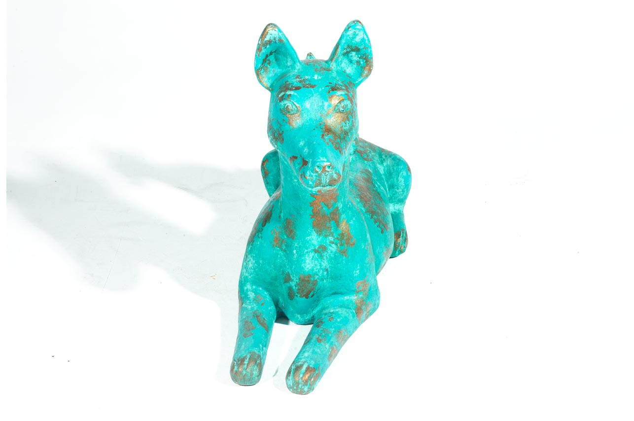 Turquoise Sitting Pups