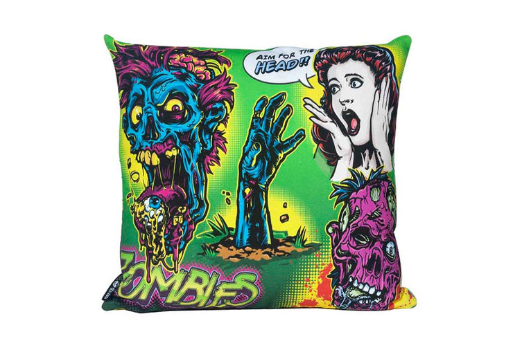 Zombie Attack Pillow