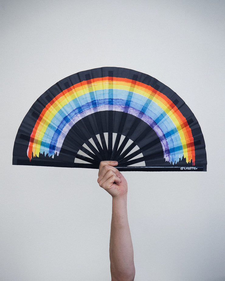 Black Rainbow Fan