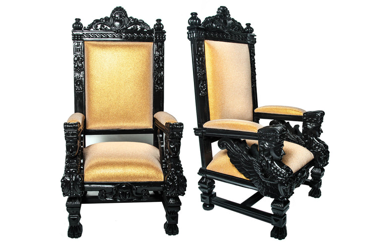 Crystal Emperor Chair