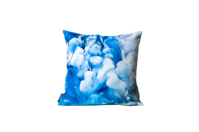 Blue Smoke Pillow