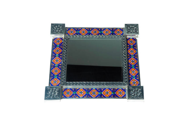 Tiled Square Mirror #20