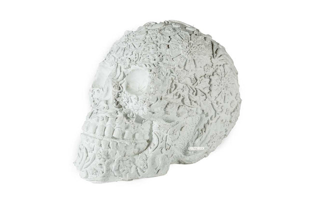 Sugar skull White Small