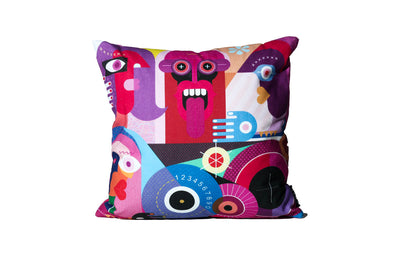 Cartoon Art Pillow