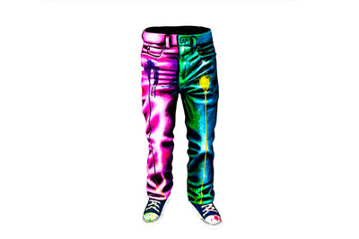 Colorful Ceramic Jeans