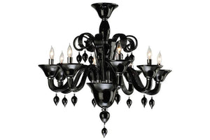 Open image in slideshow, Goth Princess Chandelier