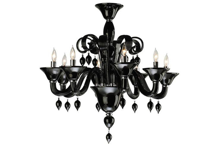 Goth Princess Chandelier