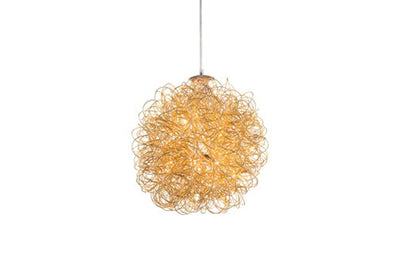 Anodized Coil Ceiling Lamp