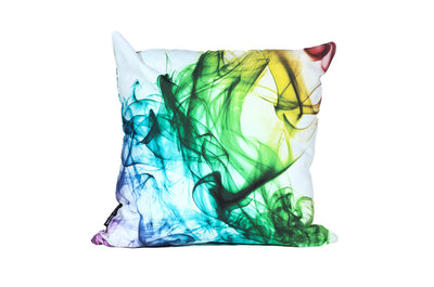 Color Smoke Pillow