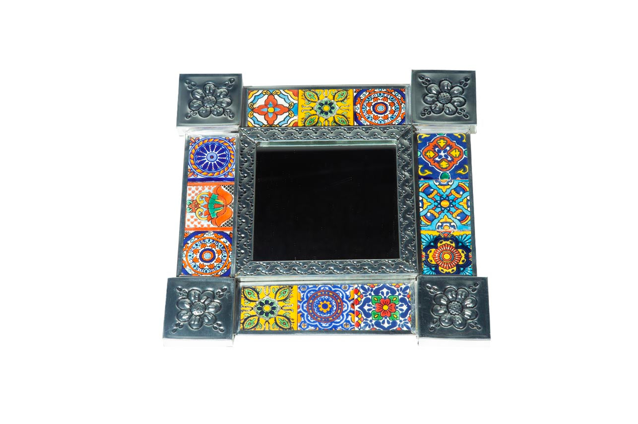 Tiled Square Mirror #12