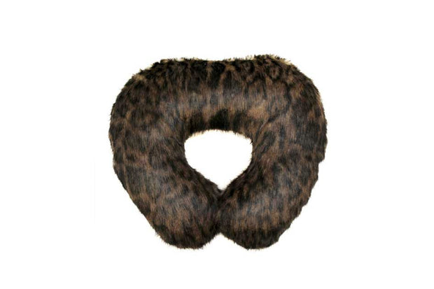 Dark Leopard Travel Neck Pillow