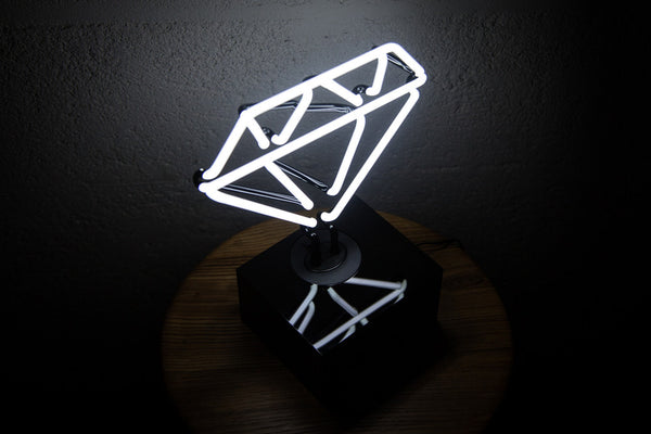 Diamond Neon Table Light
