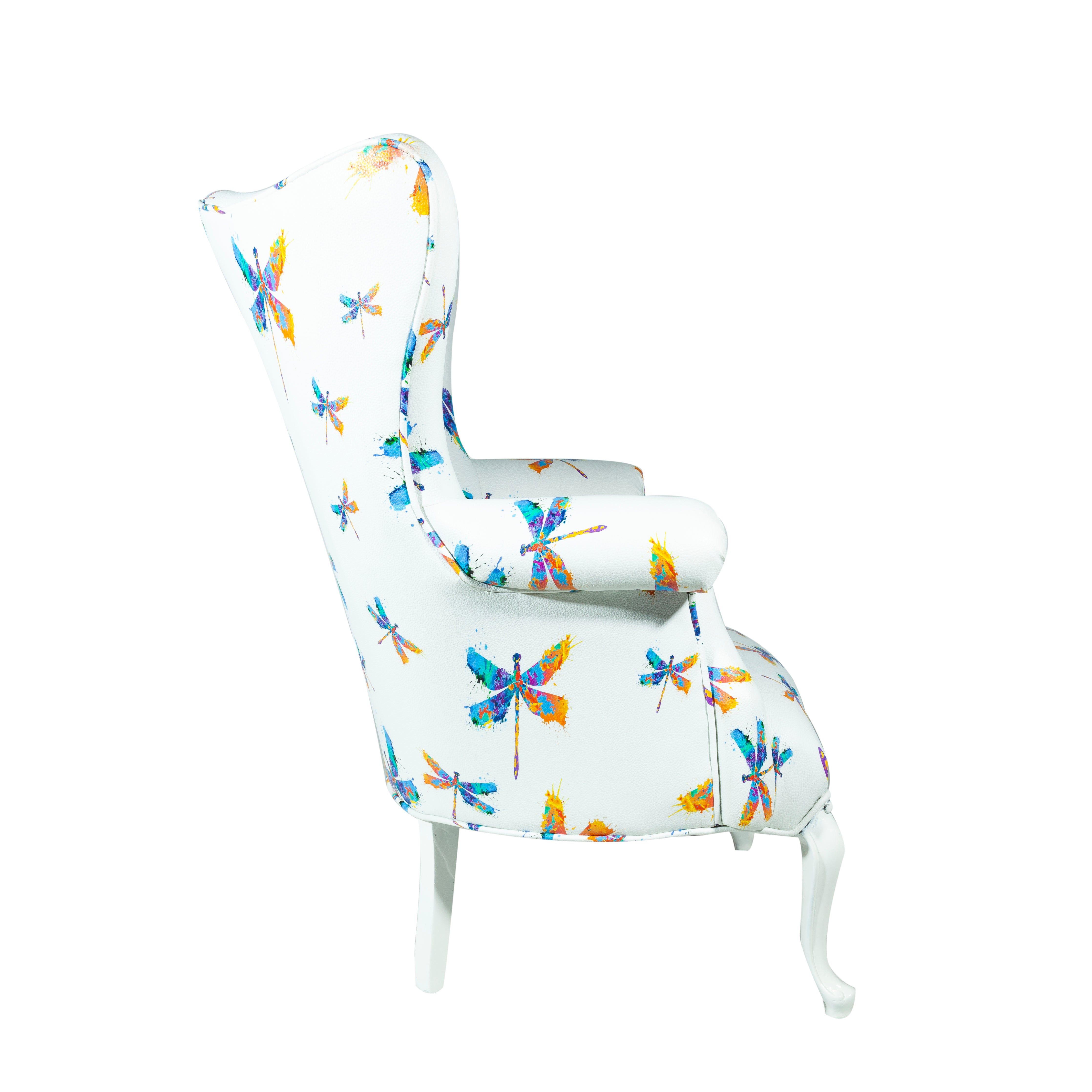 Dragonfly Watercolor Chair