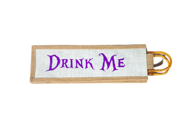 """Drink Me"" Wine Sleeves"