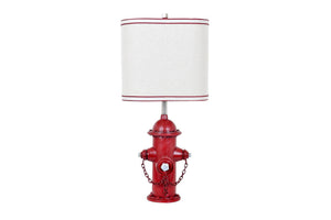 Fire Hydrant Table Lamp