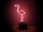 Flamingo Neon Table Light
