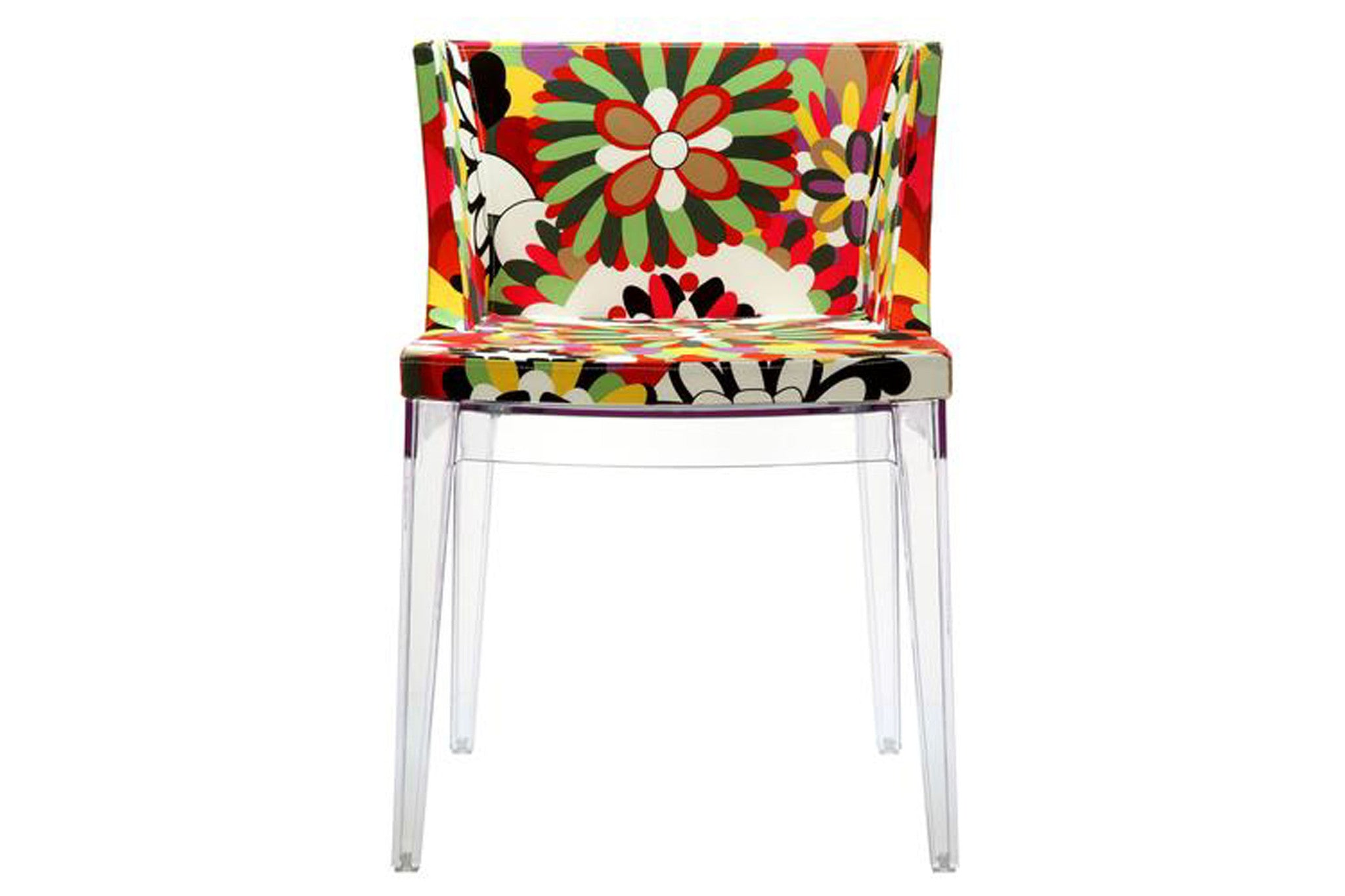 Flower Side Chair in Clear