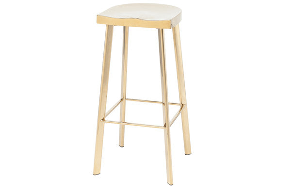 Gold Stainless Steel Bar Stool