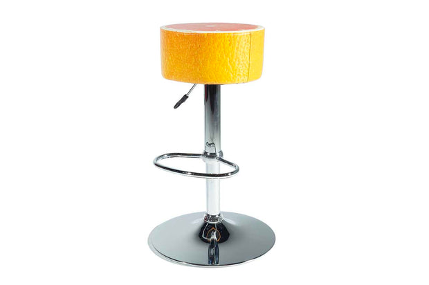 Red Grapefruit Barstool