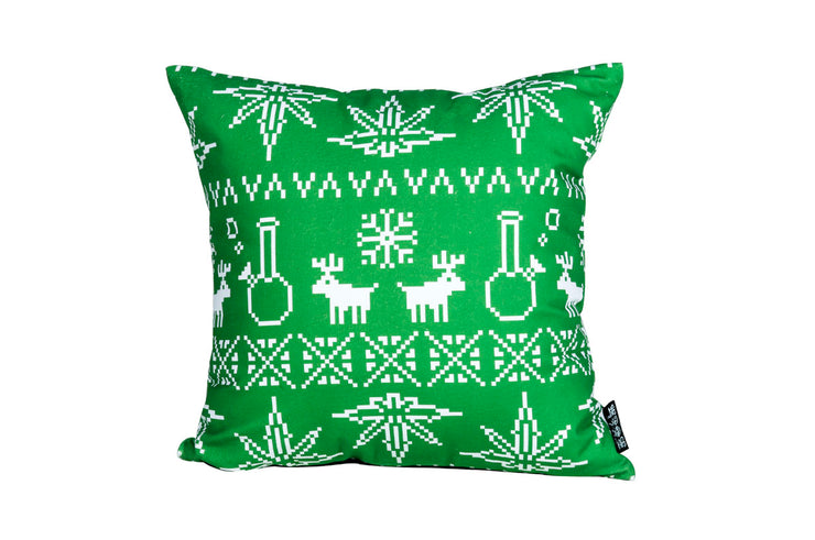 Green Christmas Pillow