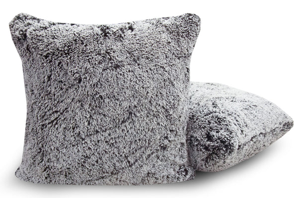 Grey Alpaca Pillow