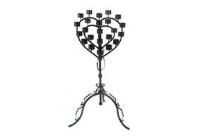 Open image in slideshow, HeartShaped Candle Holder