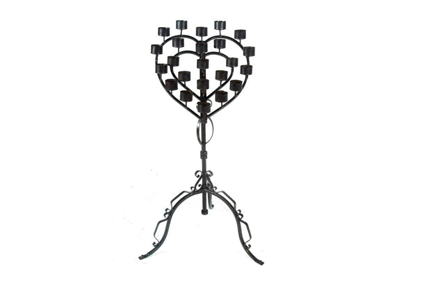 HeartShaped Candle Holder