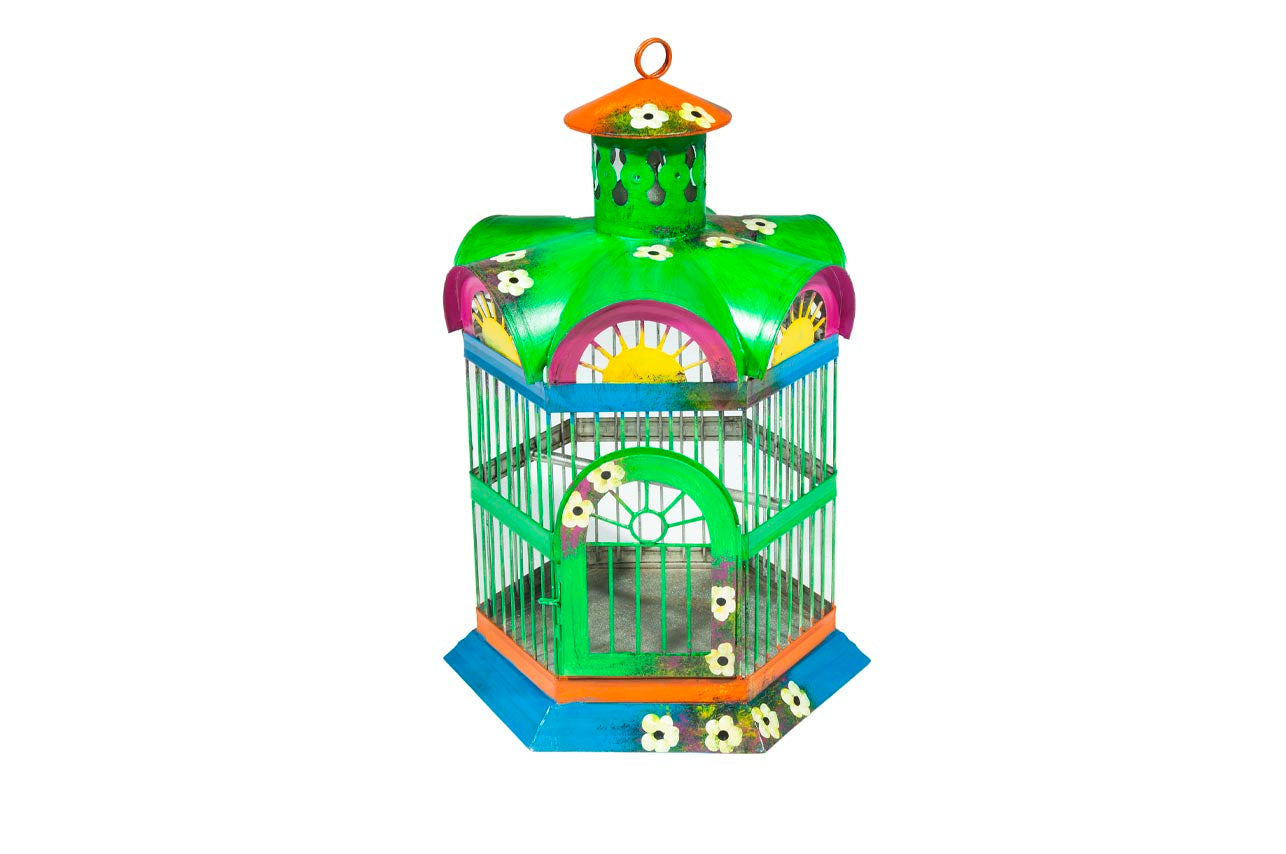 Colorful Birdcage- Large