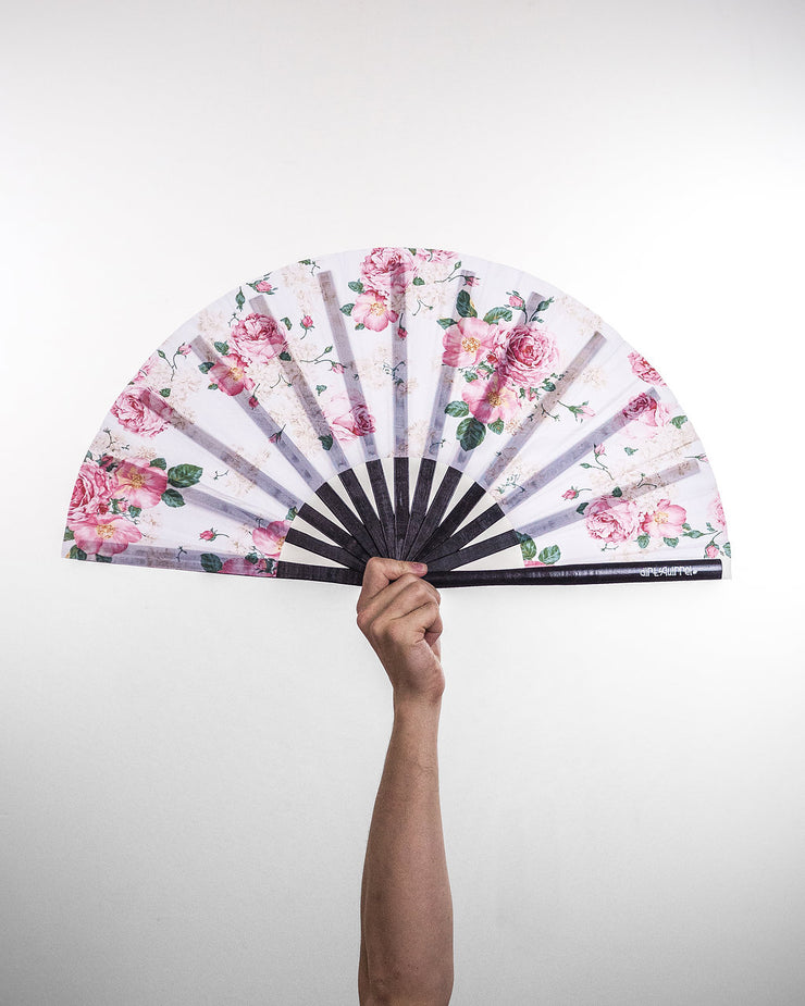 Light Floral Fan