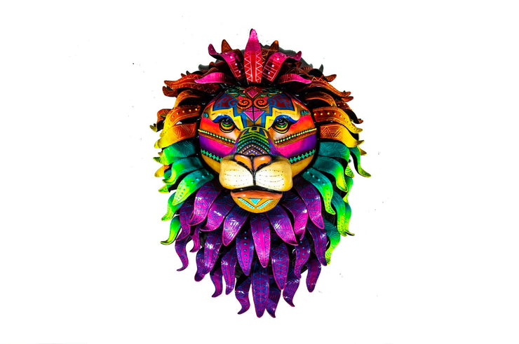Abstract Lion Head