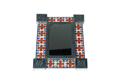 Tiled Rectangle Mirror #16