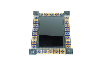 Tiled Rectangle Mirror #28