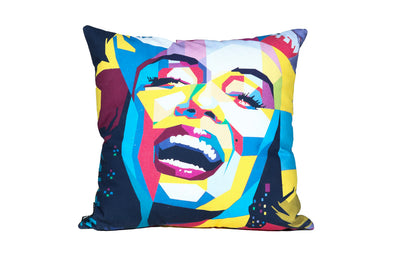 Monroe Color Art Pillow