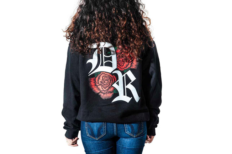 Red Roses Pullover Hoodie