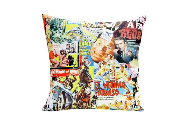 Vintage Films Pillow