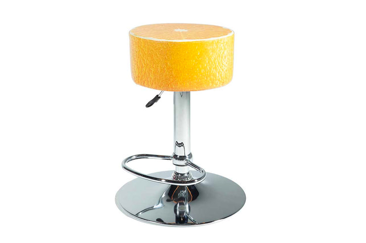 Orange Barstool