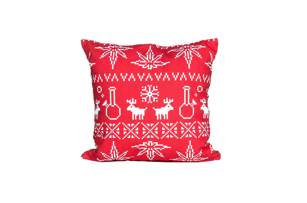 Red Christmas Pillow