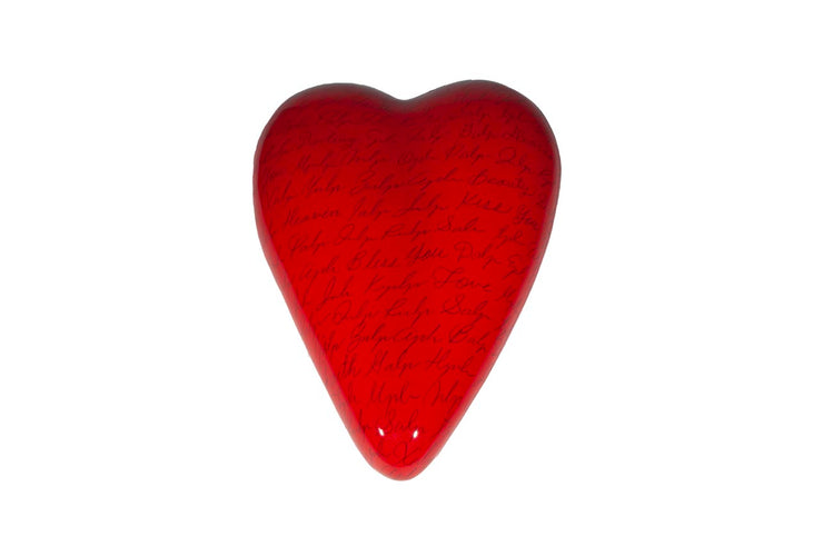 XL Resin Wall Heart