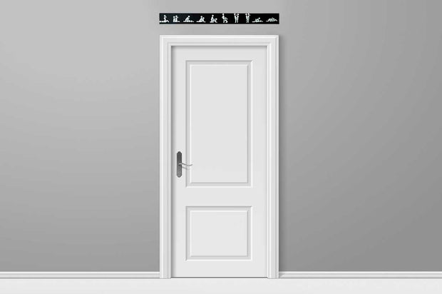 Positions Black (Single Door)