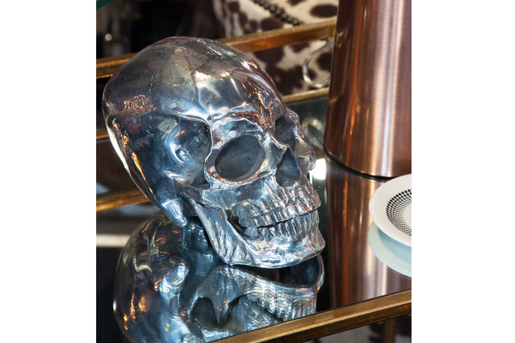 Nickel Skull Head