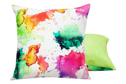 Art Splatter Pillow