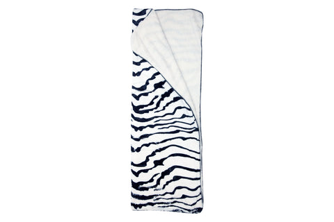 Zebra Skin Sherpa Throw