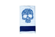 Embroidered Skull Kitchen Towel