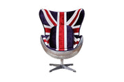 Union Jack Accent Chair