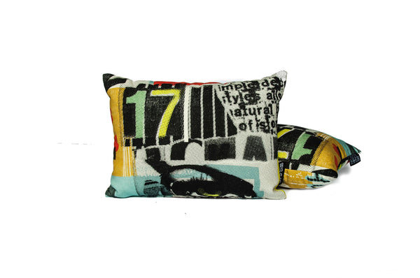 Private Eyes Pillow