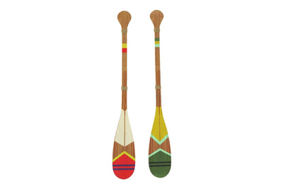 Wooden Oar Wall Decor