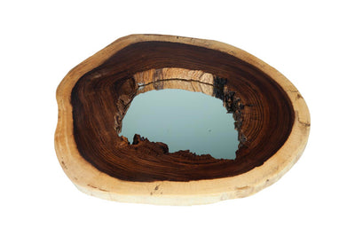 "Log Slice Mirror- (Large 36"")"