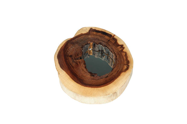 Log Slice Mirror- Small