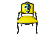 Yellow Skull God Armchair