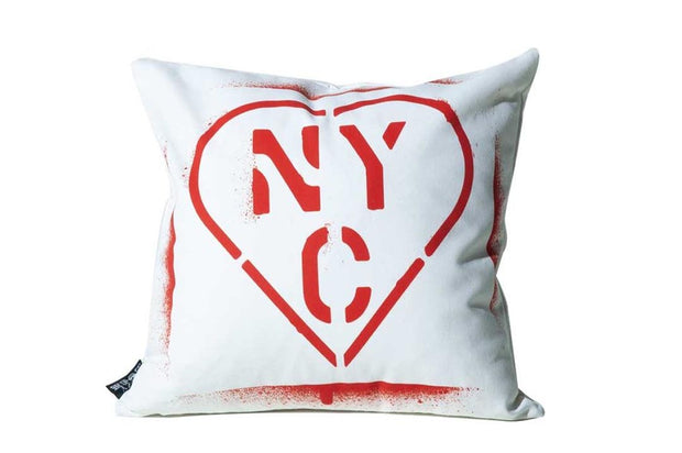 NYC Paint Pillow